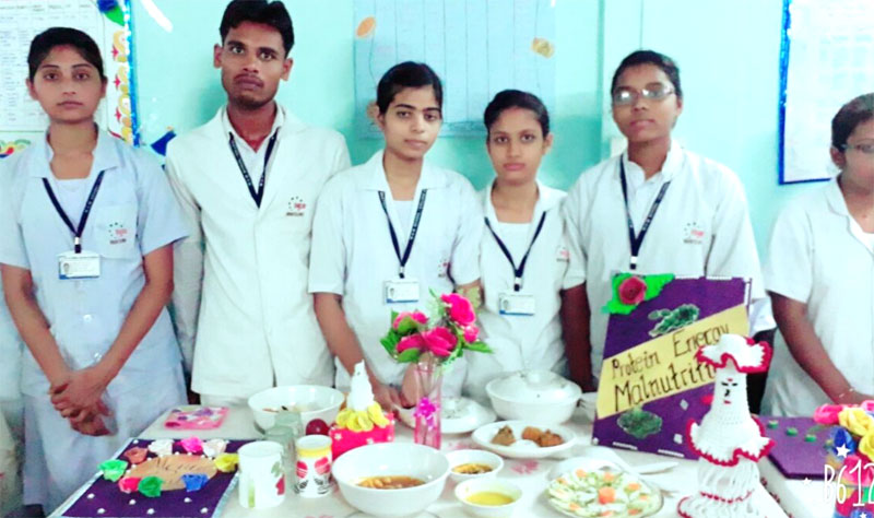 Nutrition Practical Exhibition Mgm College Of Nursing Katni